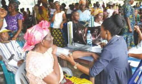 Medical Outreach to elderly and sick persons in our Diocese